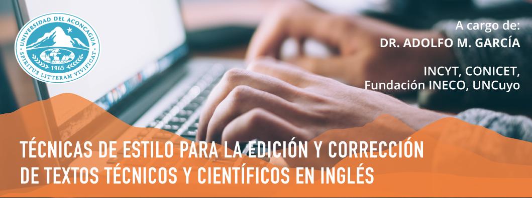 Técnicas de estilo para la edición y corrección de textos técnicos y científicos en inglés