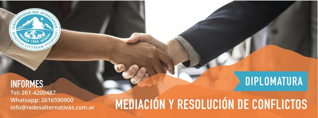 diplomatura en mediación y resolución de conflictos